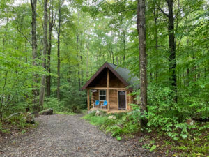 Romantic Cabins in West Virginia | Remote Location Near Cooper's Rock State Forest