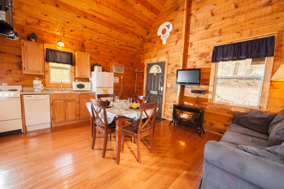 Cabin Rentals in West Virginia | Mountaineer Cabin Rental