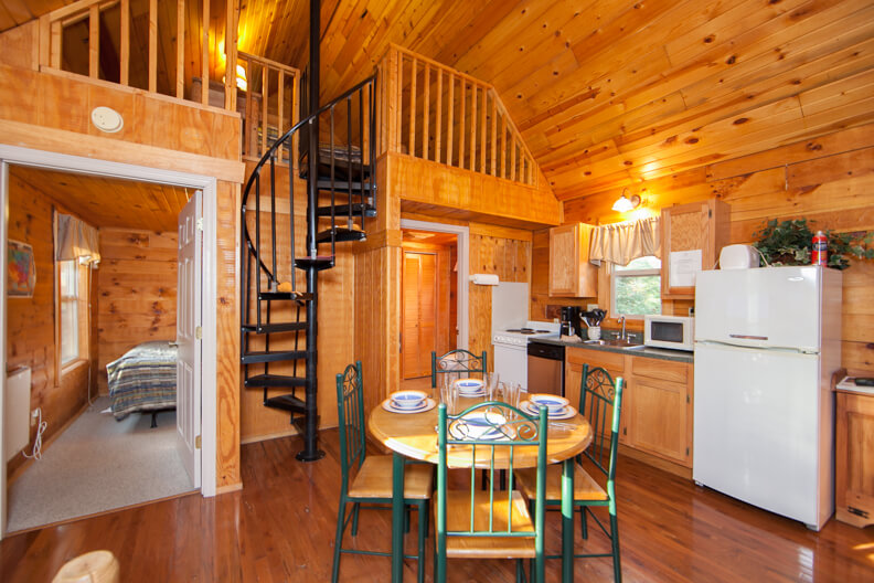 Cabin Rentals in West Virginia | Shawnee Cabin Rental