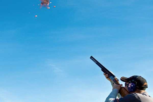 Sporting Clay Target Shooting Range