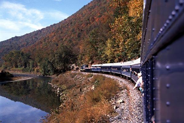 Train Rides Mountain Creek Cabins