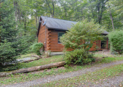 Black Bear Cabin Exterior