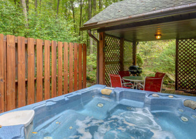 Black Bear Cabin Hot Tub