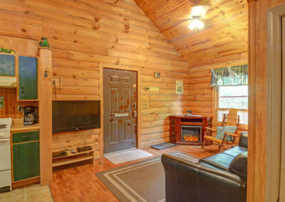 Black Bear Cabin Living Room