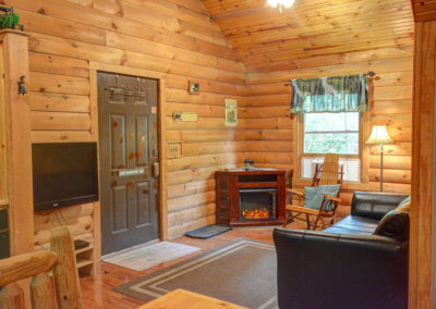 Black Bear Cabin - Living Room