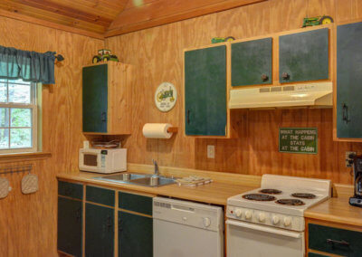 Black Bear Cabin Kitchen