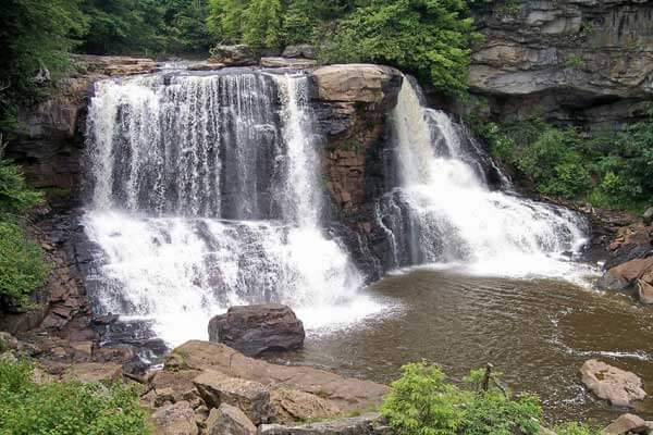 Blackwater Falls near Canaan