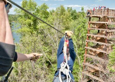 Zipline in Canaan