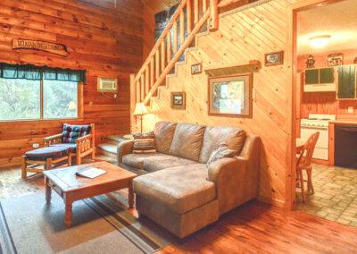 Cougar Cabin - Living Room
