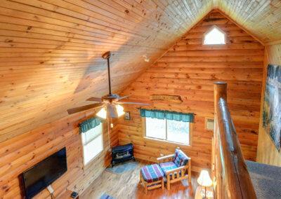 Cougar Cabin Loft View