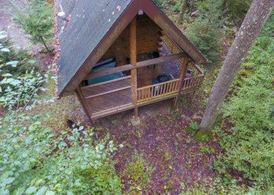Shawnee Cabin - Deck and Hot Tub