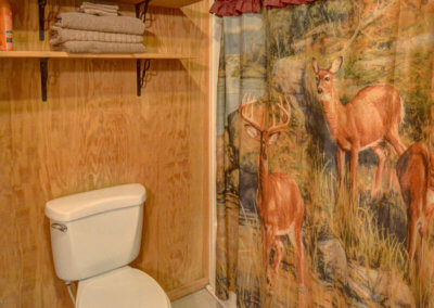 White Tail Cabin - Bathroom
